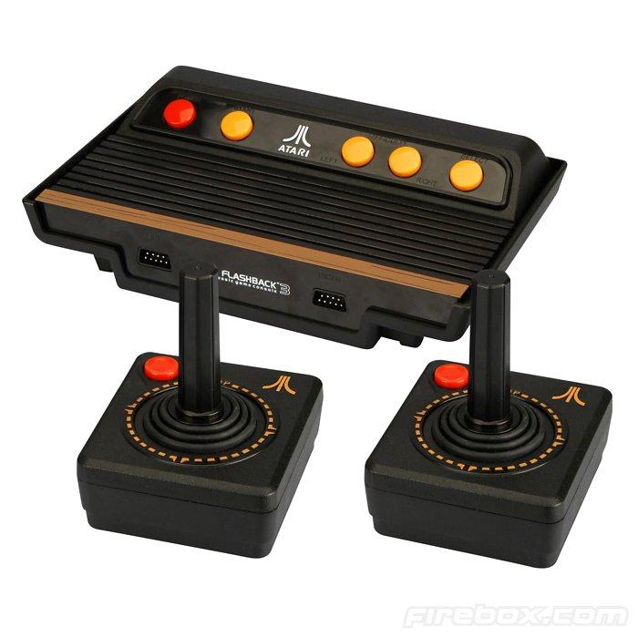 Atari flashback 3 console de jeux oldschool cool mania for Console de jeux