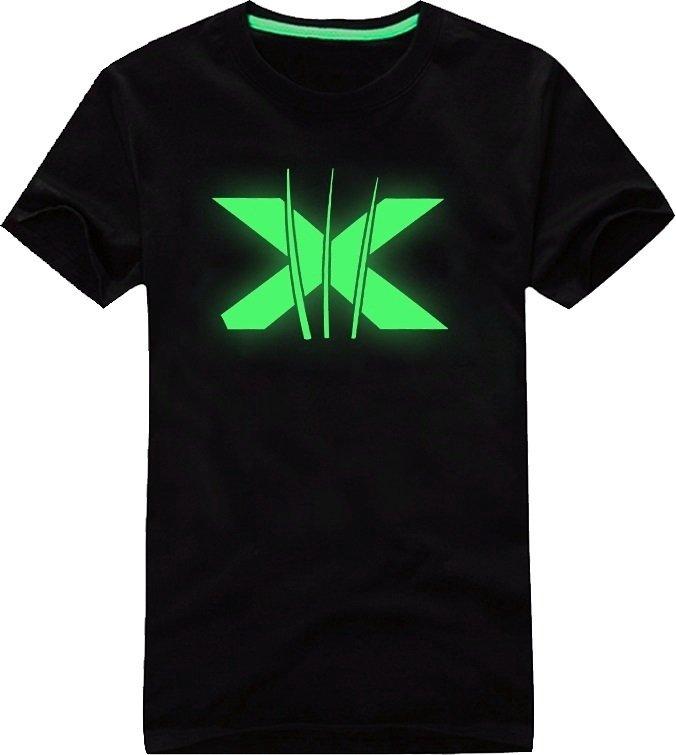 Neon t shirt x man cool mania